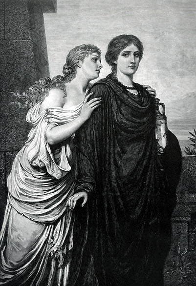 an analysis of the theme of death in the play antigone by sophocles In antigone, written by sophocles, creon dominates the play with his powerful yet arrogant personality even though antigone is the name of this play, creon, the ruling king of thebes with a no turning back attitude, proves to be the main character.